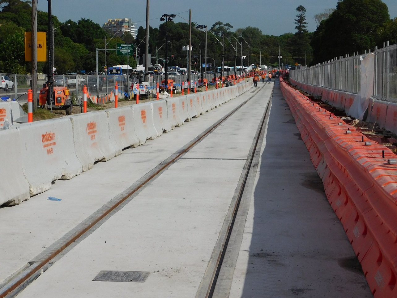 South East bus commuters will have an easier run in and out of the city from, with the busway along Anzac Parade reopening for express buses.