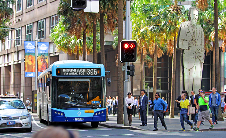 A new CBD bus network