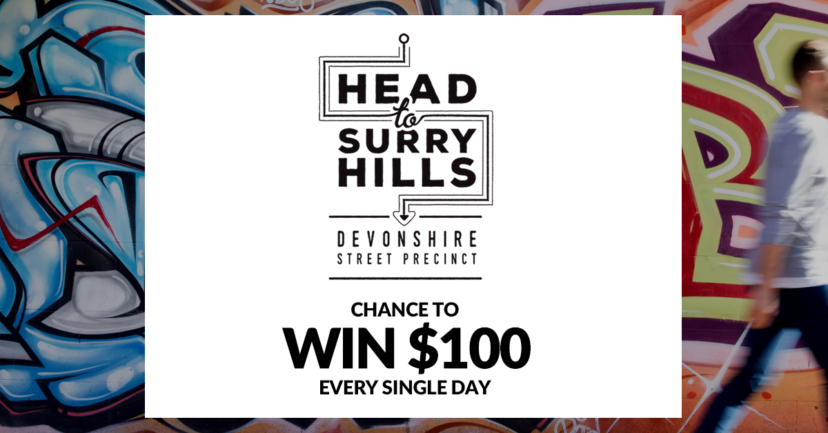 Swing into Surry Hills and enter to win