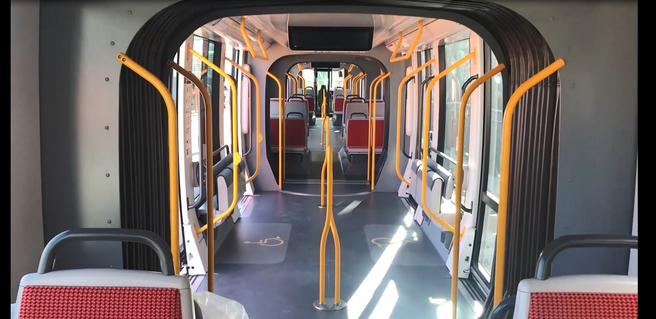 First glimpse inside Sydney's newest light rail vehicle