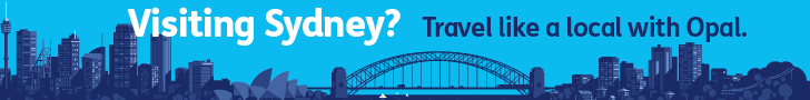 Visiting Sydney? Travel like a local with Opal.