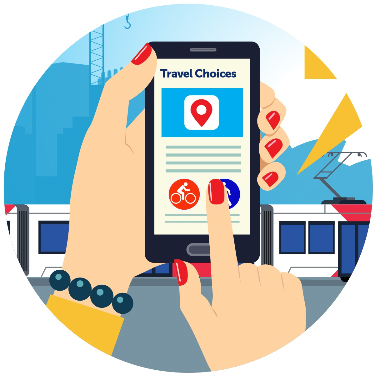 Innovation meets transport with the Travel Choices Challenge