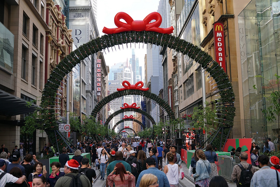 George St Christmas