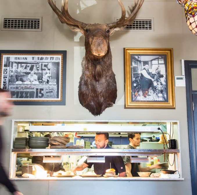 Dove & Olive pub in Surry Hills