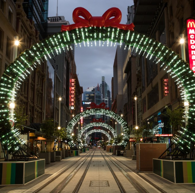 George Street opens up for Christmas