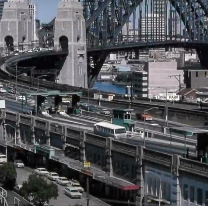 Sydney Harbour Bridge toll booths