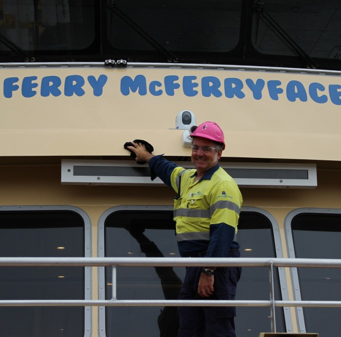 Meet Sydney's newest icon - ferry family first look