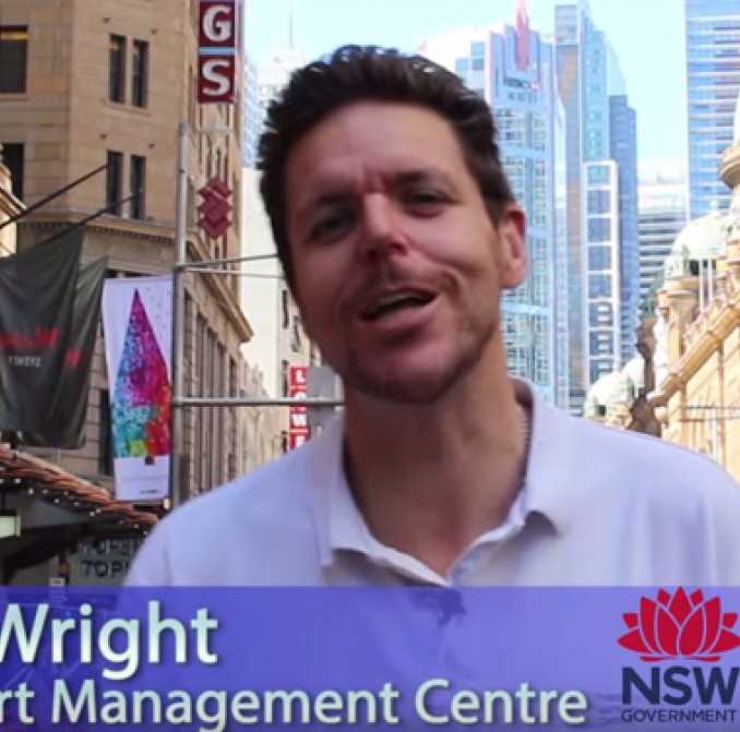 Dave Wright from transport for New South Wales