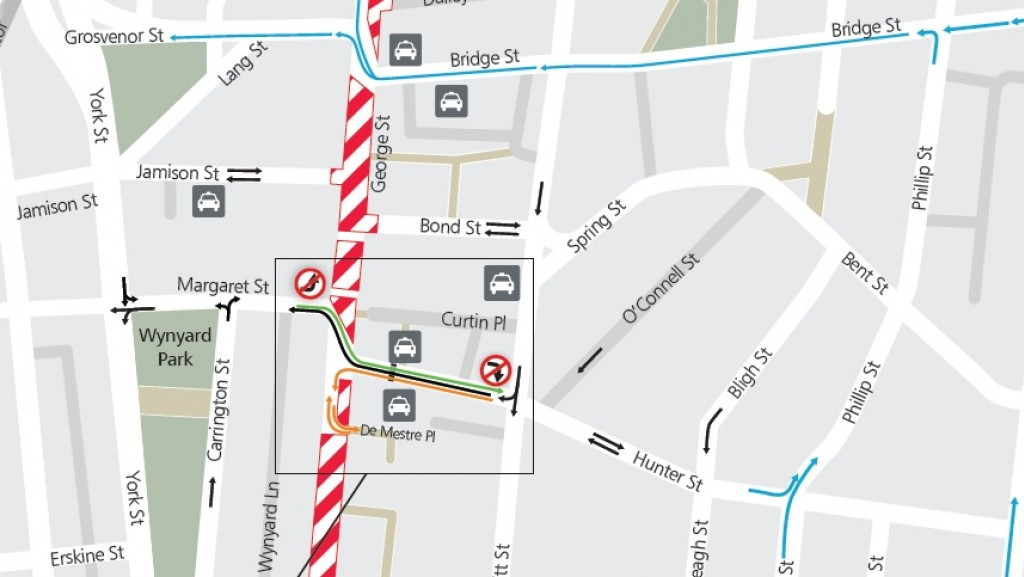 Hunter Street two-way changes