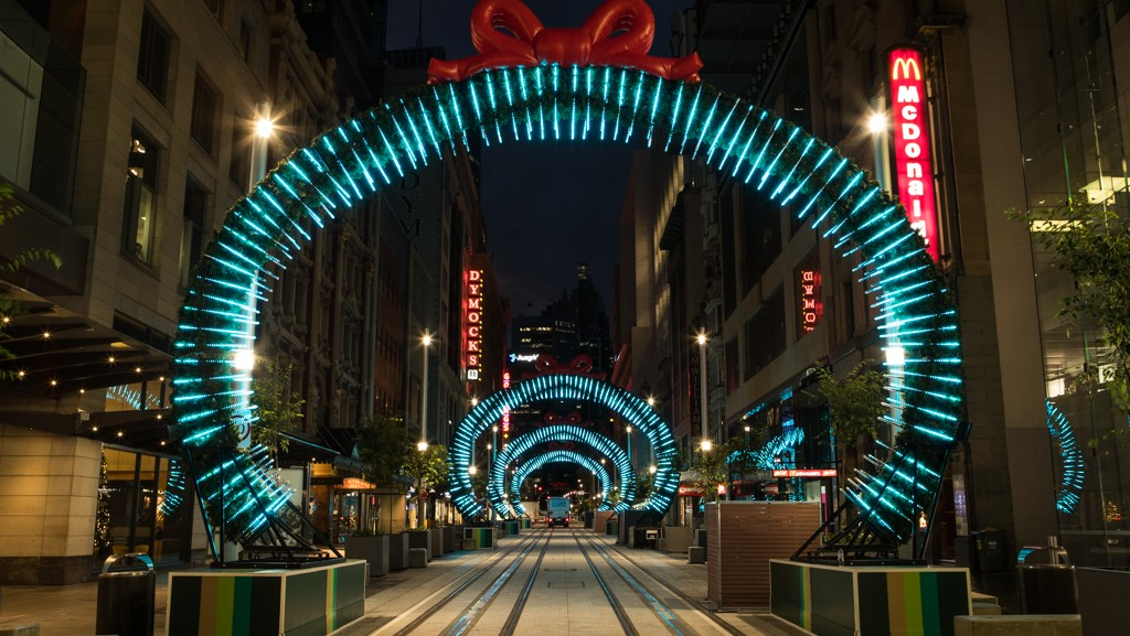 George St lights up for Christmas