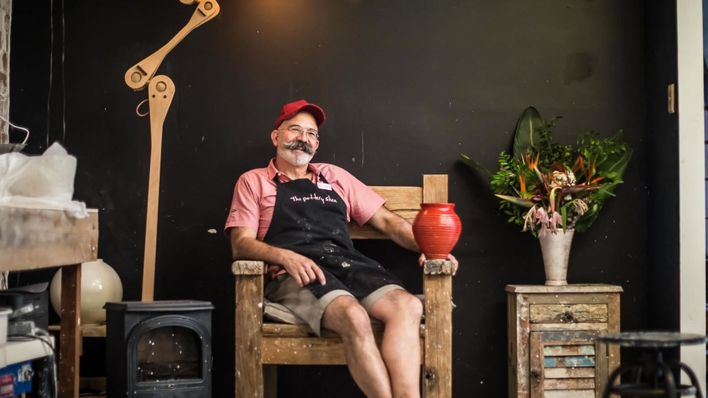 Surry Hills business owner Joe Darling
