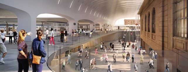 Central Station north concourse artist impression
