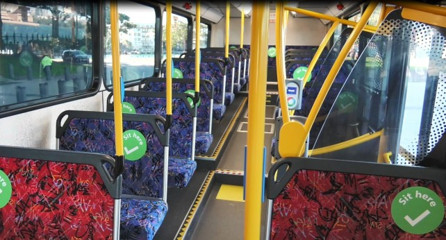 Health Advice Allows Public Transport Peak Capacity To Double